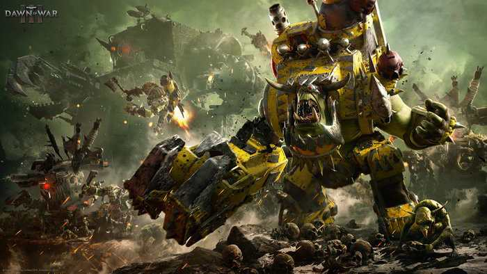 Warhammer 40.000 Dawn of War III è adesso disponibile