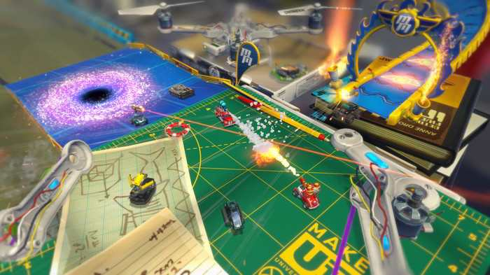 Micro Machines World Series corre in multiplayer tra video e immagini