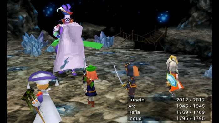 Remake di Final Fantasy III a breve su Steam