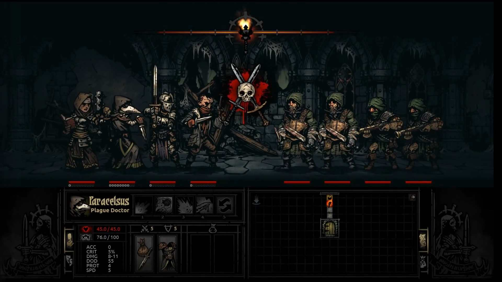 Darkest Dungeon – Recensione | Deep, dark fantasy