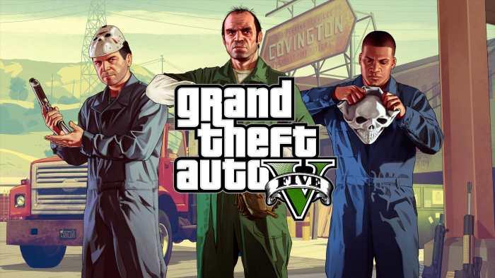 GTA V grand theft auto v 5