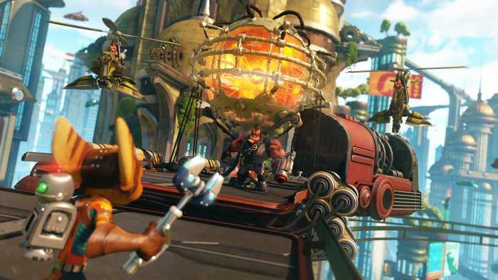 [PS4] Ratchet & Clank si mostra su PS4 nel primo trailer e in immagini
