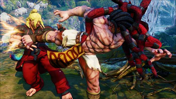 street fighter v 5 necalli