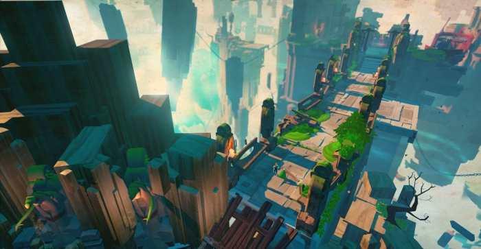 Stories: The Hidden Path è l'action RPG tra isole volanti