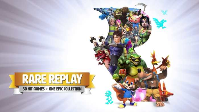 Classifica UK: debutto col botto per Rare Replay