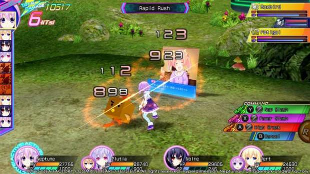 Hyperdimension Neptunia Re;Birth 3: V Generation nrs