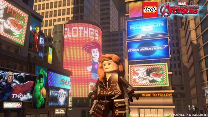 Lego marvel's avengers Black Widow