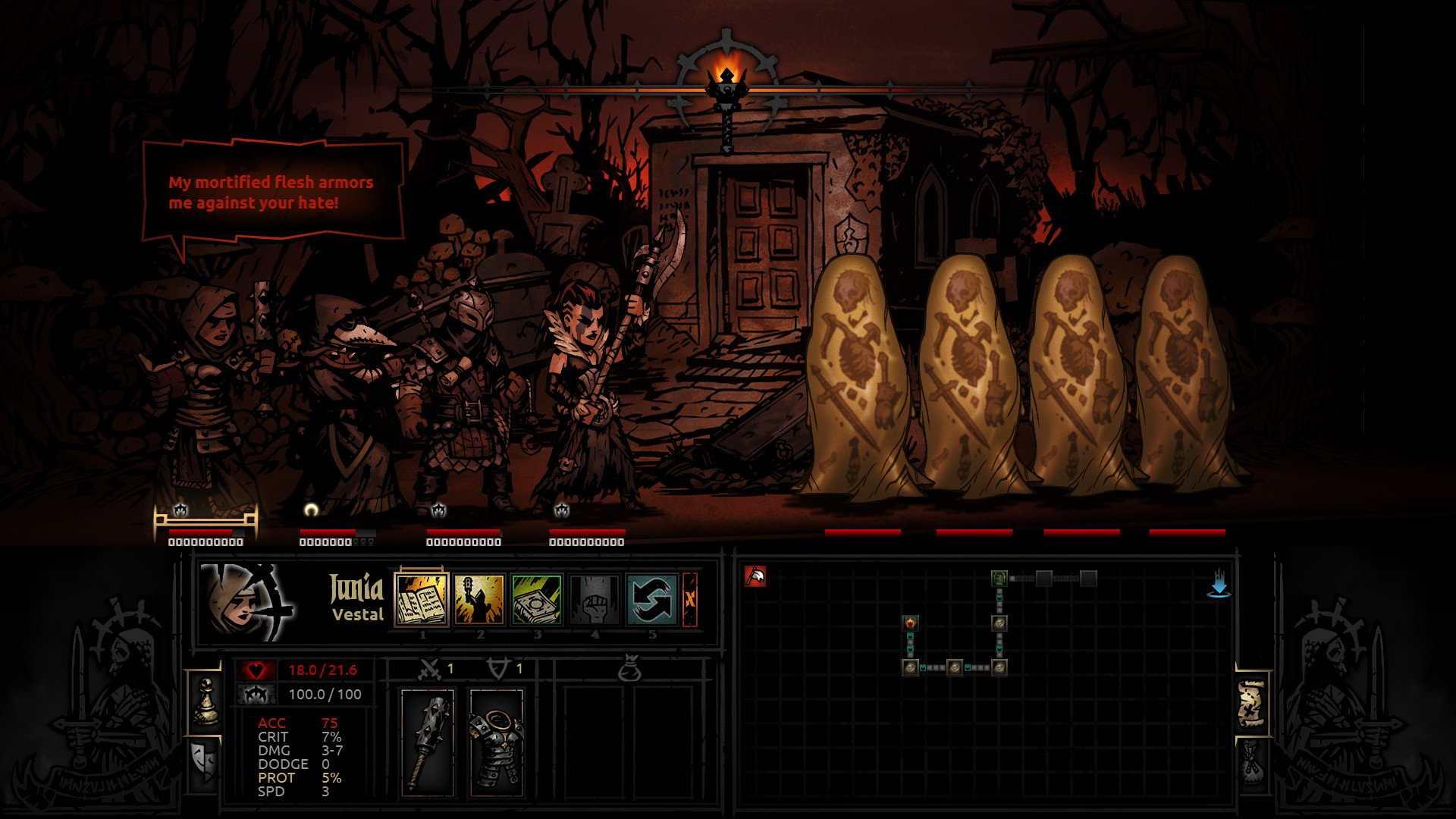 darkest dungeon recensione