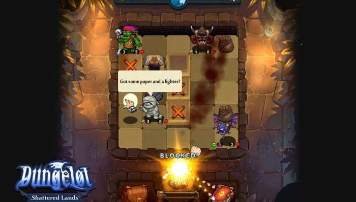 [Recensione] Dungelot: Shattered Lands - Dal mobile con furore