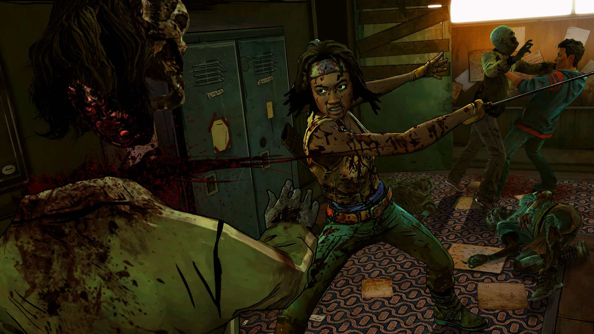 [Recensione] The Walking Dead: Michonne – Episodio 1: In Too Deep