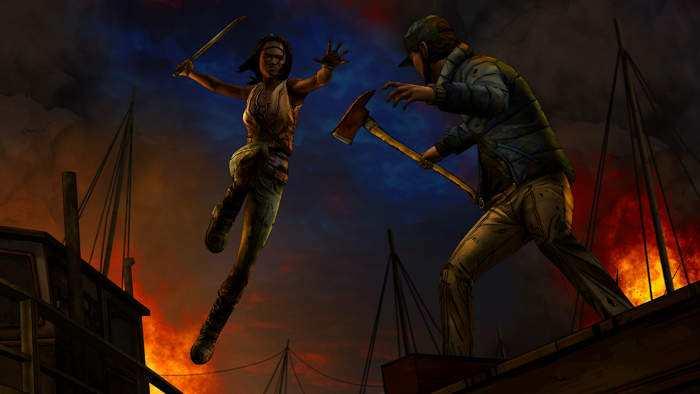 twd the walking dead Michonne episodio 2