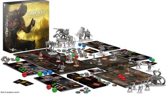 Gioco da tavolo di Dark Souls è un trionfo su Kickstarter