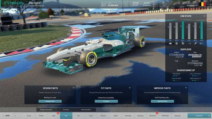 Motorsport Manager mostra come funzionano le strategie di gara