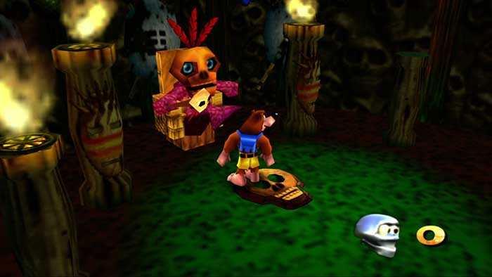 banjo kazooie nintendo 64 emulatori