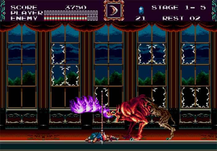 castlevania-the-new-generation emulatore