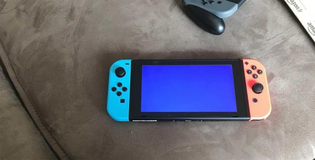 blue screen of death switch