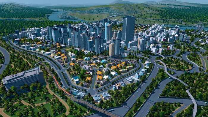 Il gestionale Cities Skyline si adatta a PlayStation 4