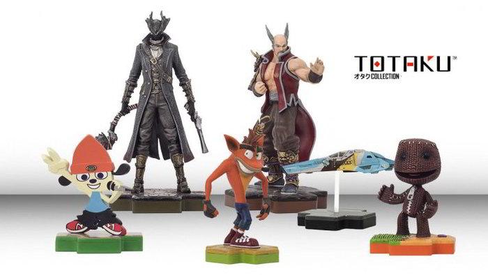 Gli Amiibo di Sony si chiamano Totaku, arrivano a Marzo e costano troppo