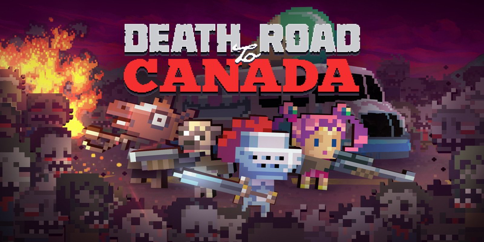 Death Road to Canada - Recensione | Massacri zombi in salsa pixel
