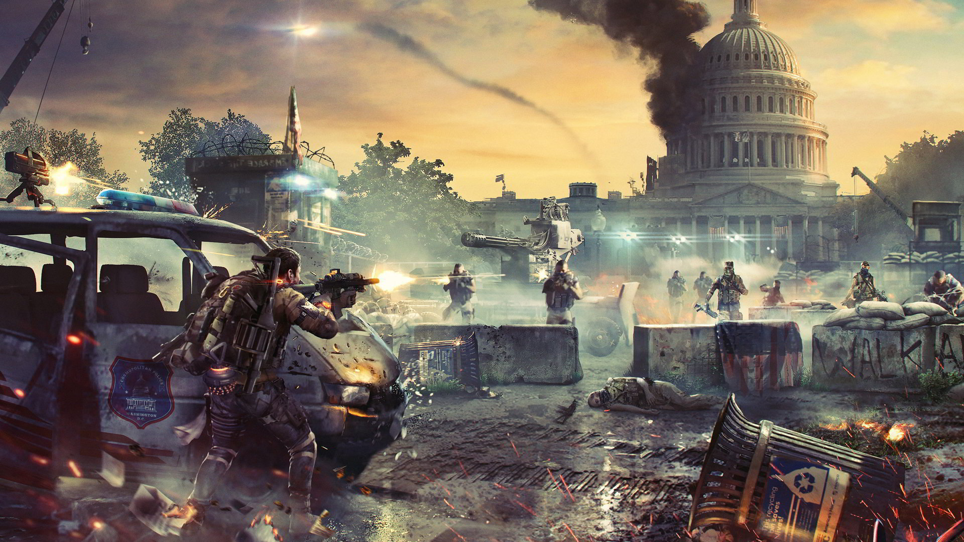 The Division 2: Raid rinviato, tante modifiche a Dark Zone e sandbox