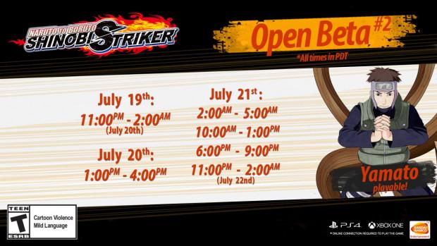 Naruto to Boruto Shinobi Striker Second Open Beta