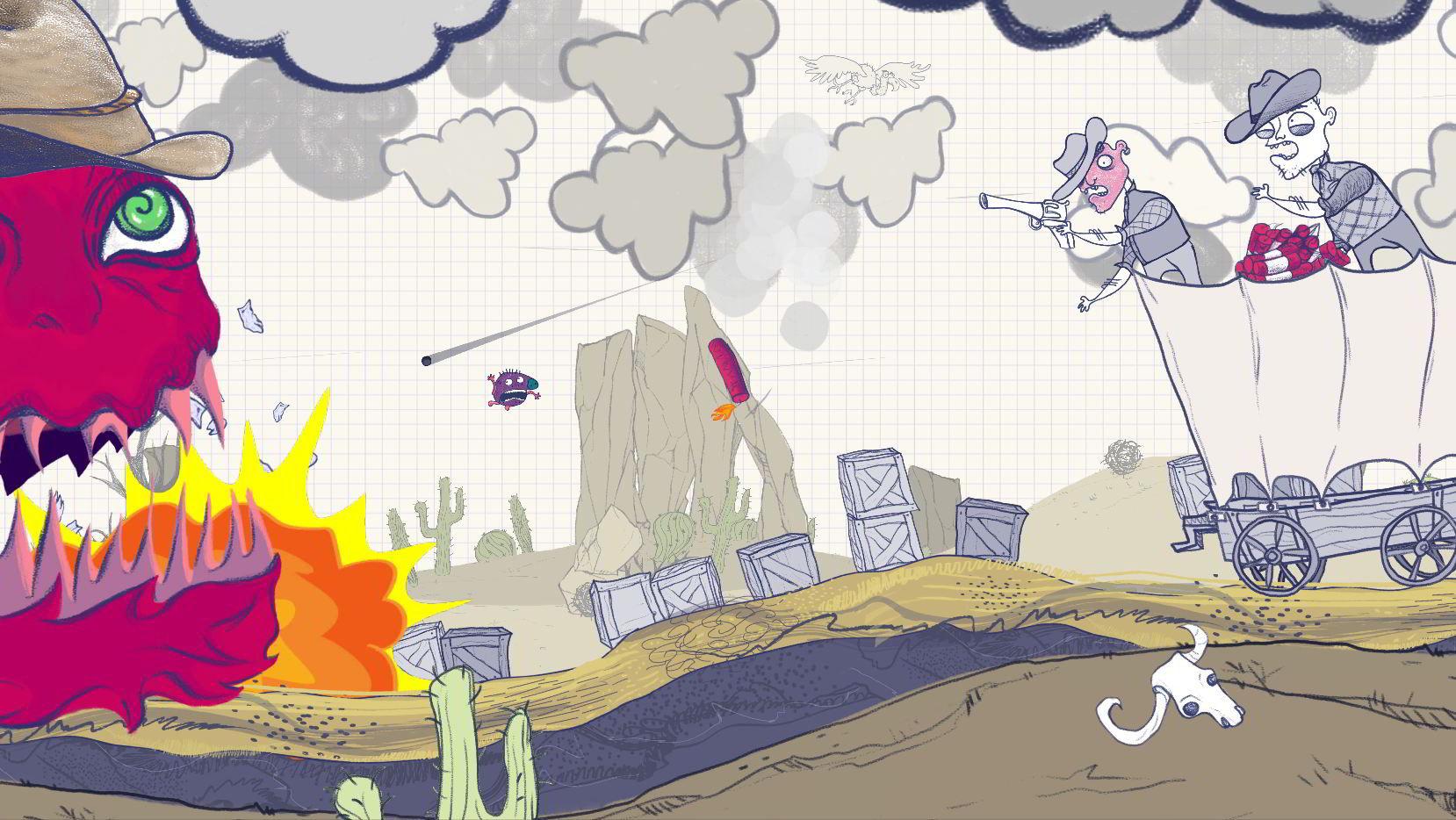 Escape Doodland – Recensione   Mille salti tra scarabocchi di ogni tipo
