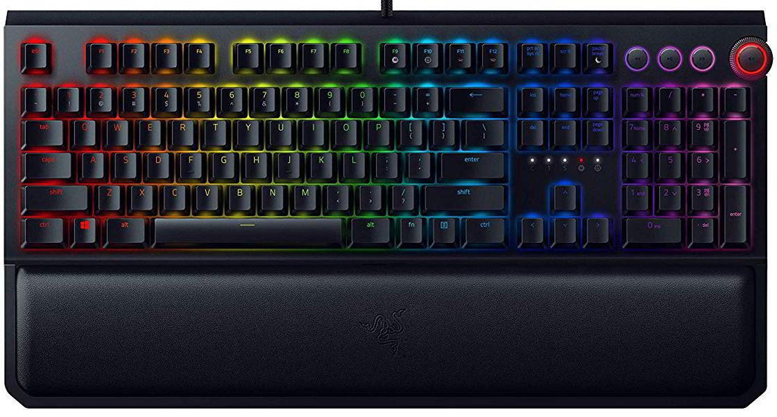 razer blackwidow elite tastiera da gaming