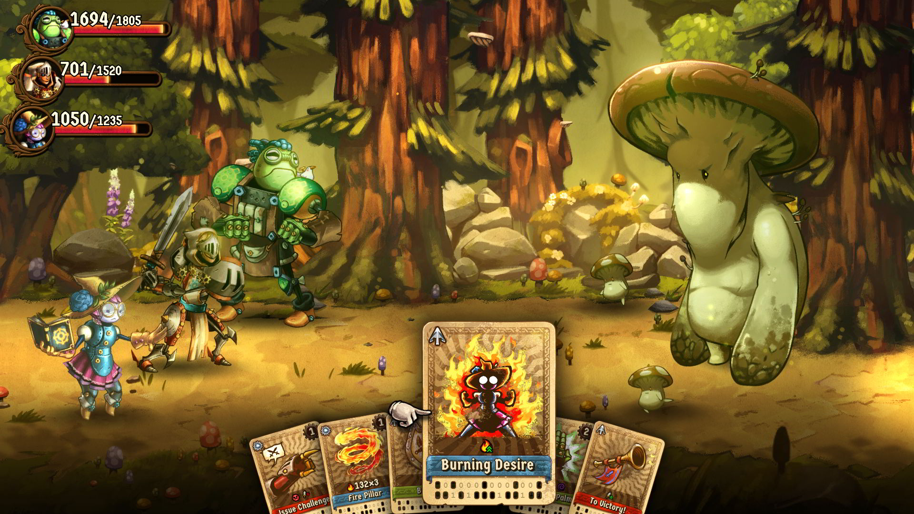 SteamWorld Quest: Hand of Gilgamech – Recensione   Robot d'altri tempi