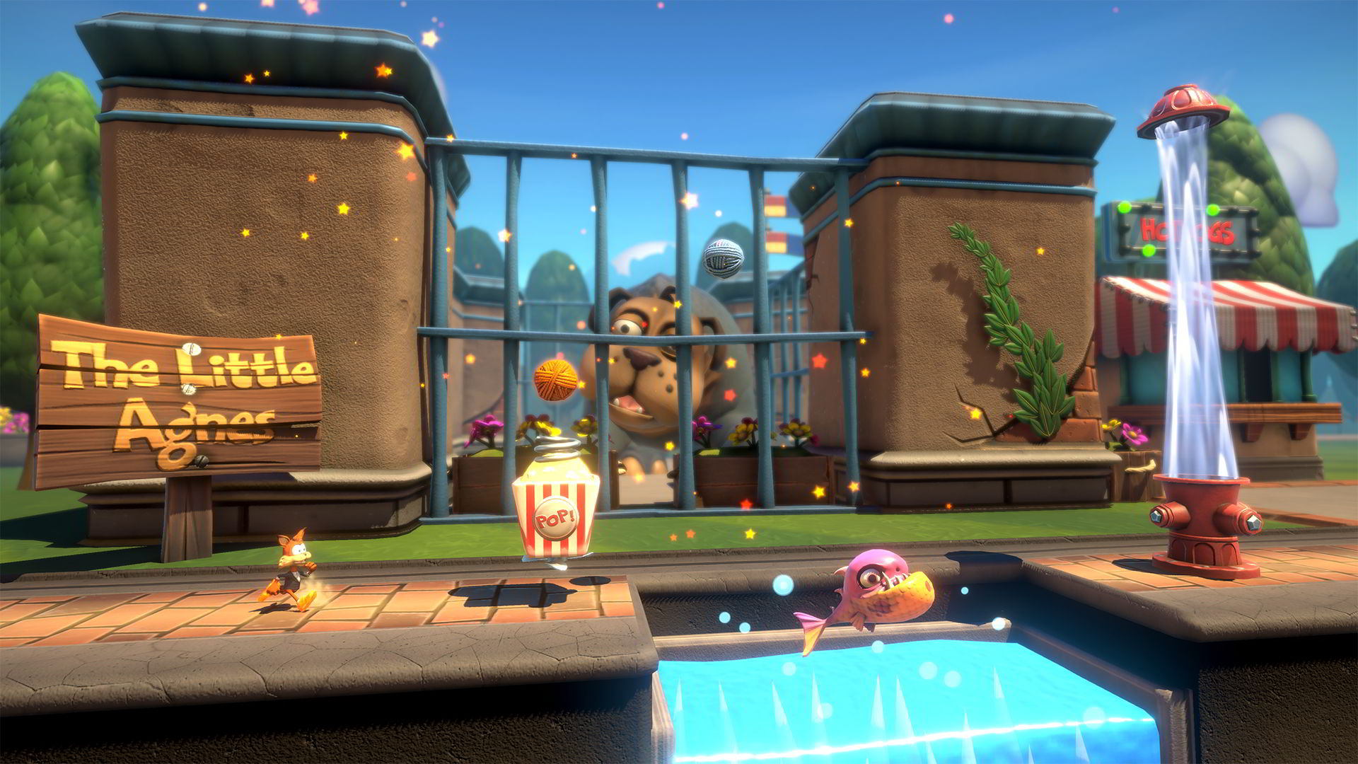 bubsy paws on fire giochi in uscita