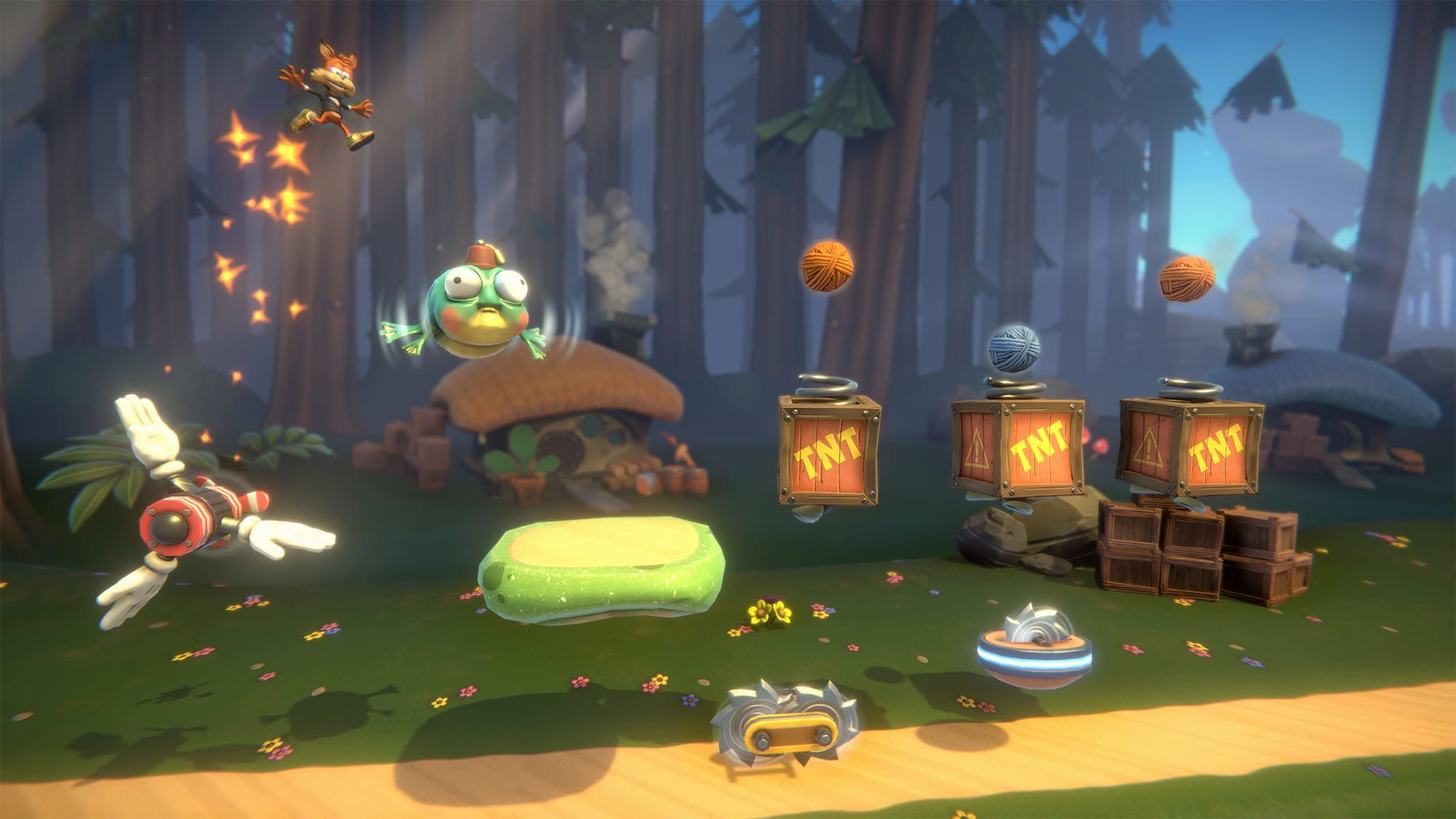 bubsy paws on fire recensione