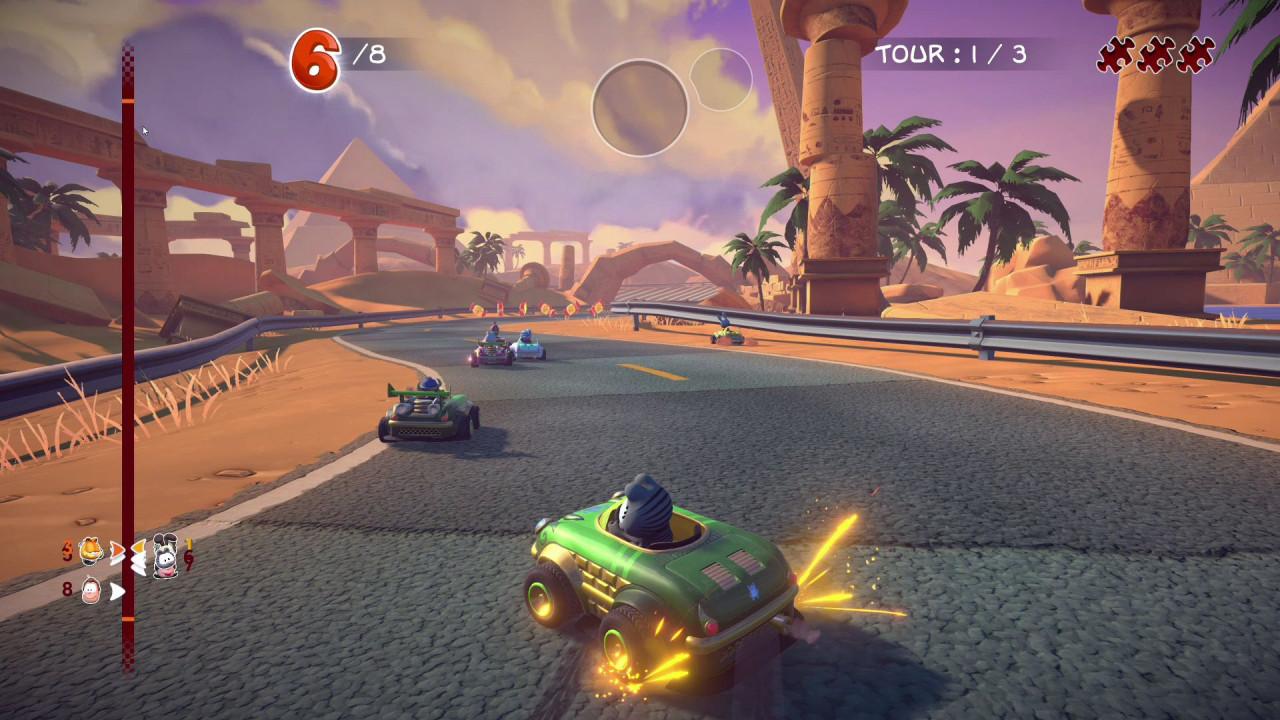 Garfield Kart Furious Racing giochi in uscita