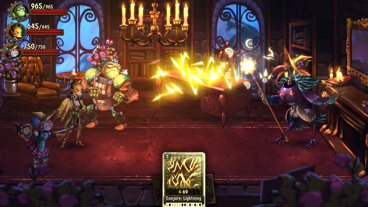 steamworld quest hand of gilgamech recensione