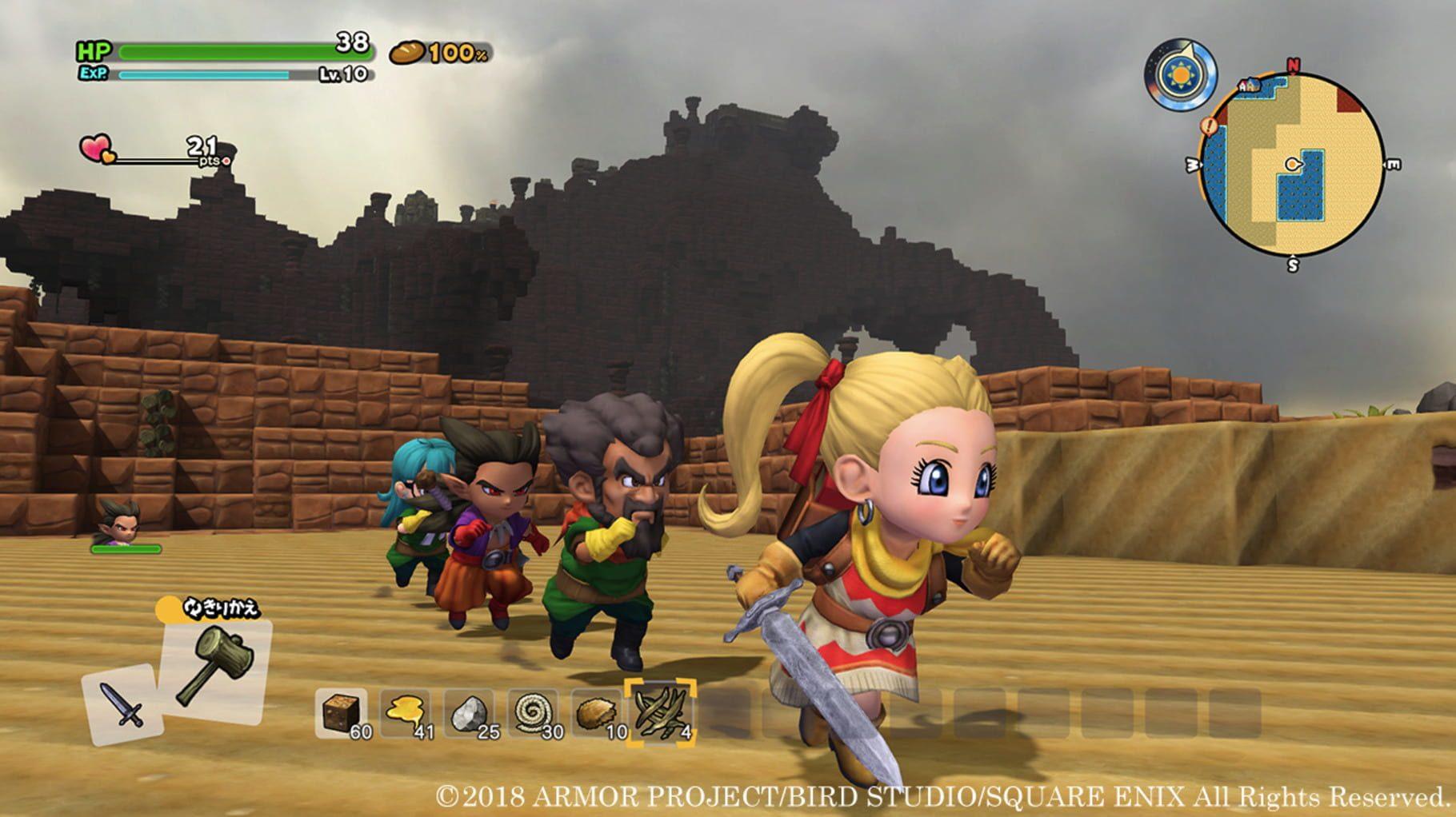 Recensione Dragon Quest Builders 2 - Come raffinare un diamante grezzo