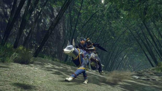 Il Palamute è una delle novità di Monster Hunter Rise.